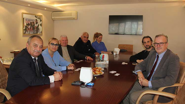 Bulgaristan Cumhuriyeti Tabipler Birliği Odamızı Ziyaret Etti