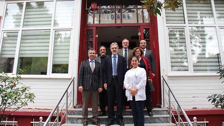 Yedikule Göğüs Hastalıkları ve Göğüs Cerrahisi Eğitim ve Araştırma Hastanesi Başhekimliği Ziyaret Edildi