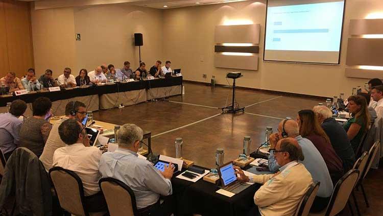 Avrupa Ücretli Hekimler Federasyonu (FEMS) Delegeleri Malaga Genel Kurulu'nda Buluştular