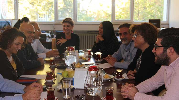 İstanbul Aile Hekimliği Derneği (İSTAHED) Yönetimi Odamızı Ziyaret Etti