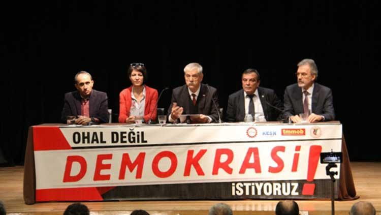 OHAL Değil, Demokrasi İstiyoruz!