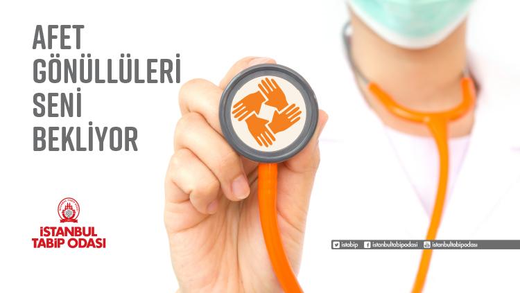 Afetlerde görev alabilecek gönüllü hekimler