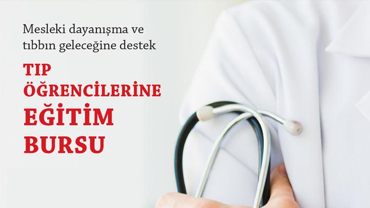Genç meslektaşlarımızla dayanışmak için İstanbul Tabip Odası Eğitim Bursu'na destekçi olun