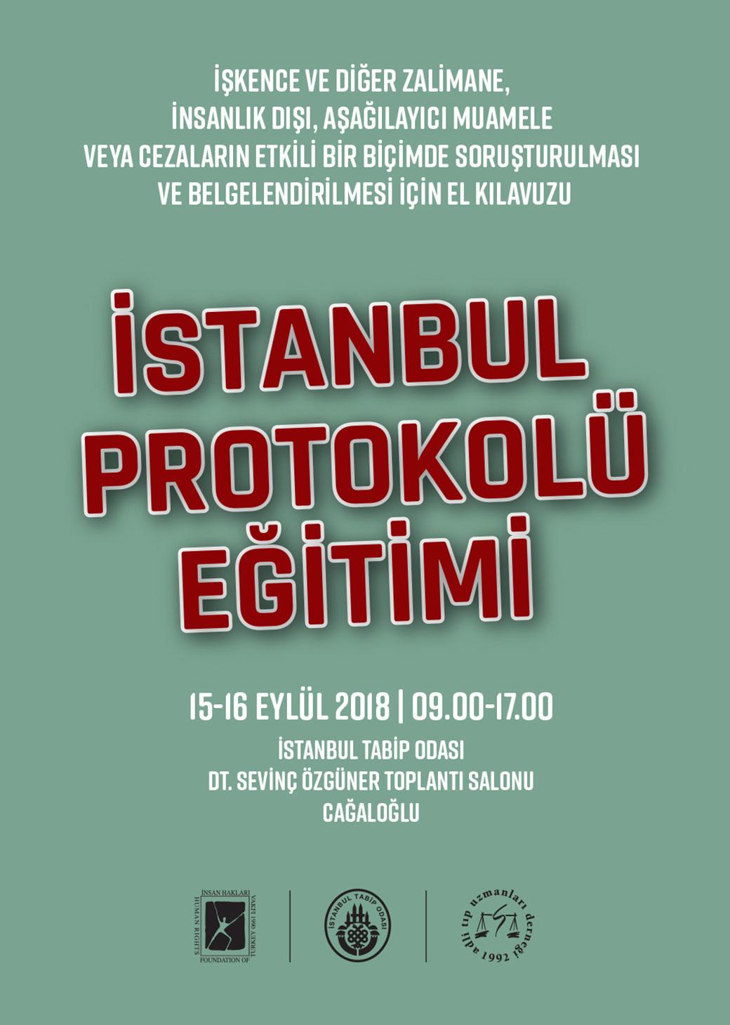 İstanbul Protokolü Eğitimi