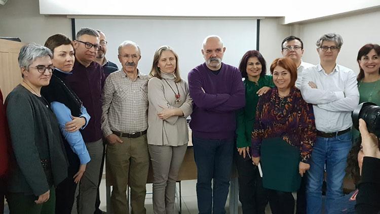 Edebiyat Matinesinin Aralık Ayı Konuğu Dr. Ercan Kesal oldu
