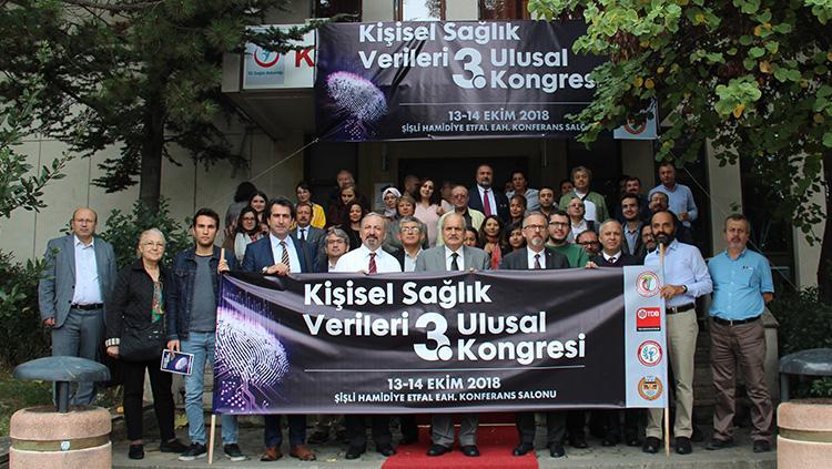 Kişisel Sağlık Verileri III. Ulusal Kongresi gerçekleştirildi
