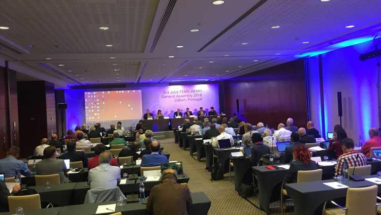 AEMH - FEMS Ortak Genel Kurul Toplantısı Lizbonda Yapıldı