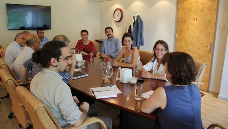 HDP Milletvekili Adayı Av. Oya Ersoy Yönetim Kurulumuzu Ziyaret Etti