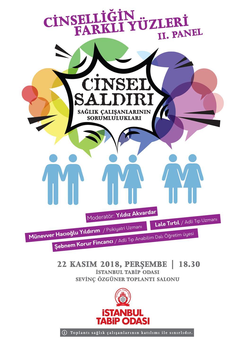 Cinselliği Konuşuyoruz Panel Dizisi 2: Cinsel Saldırı; Sağlık Çalışanlarının Sorumlulukları