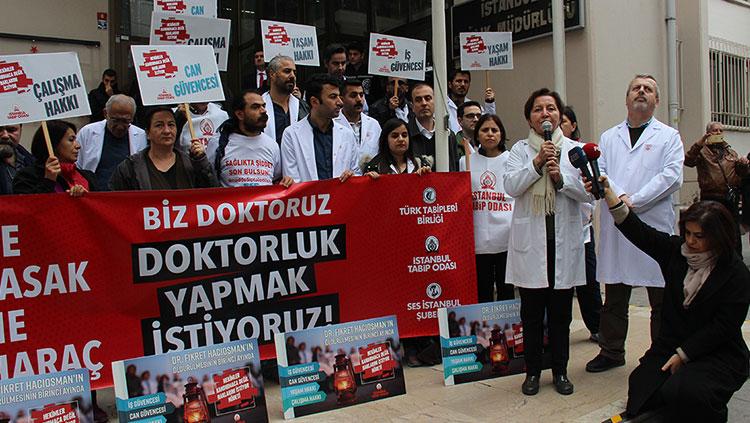 Ne Yasak, Ne Haraç/Biz Doktoruz, Doktorluk Yapmak İstiyoruz!