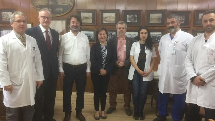 Şişli Hamidiye Etfal EAH Başhekimliğini Ziyaret