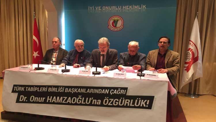 TTB Başkanlarından Çağrı: Prof. Dr. Onur Hamzaoğlu'na Özgürlük
