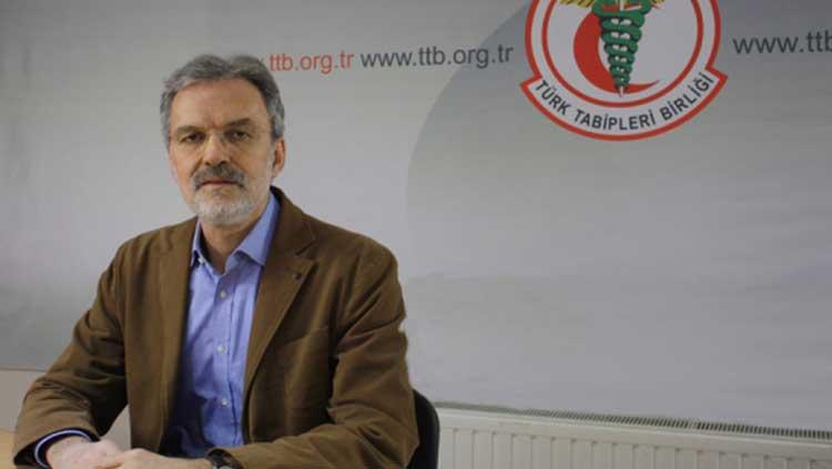 Türk Tabipleri Birliği Başkanı Dr. Raşit Tükel'in Yeni Yıl Mesajı