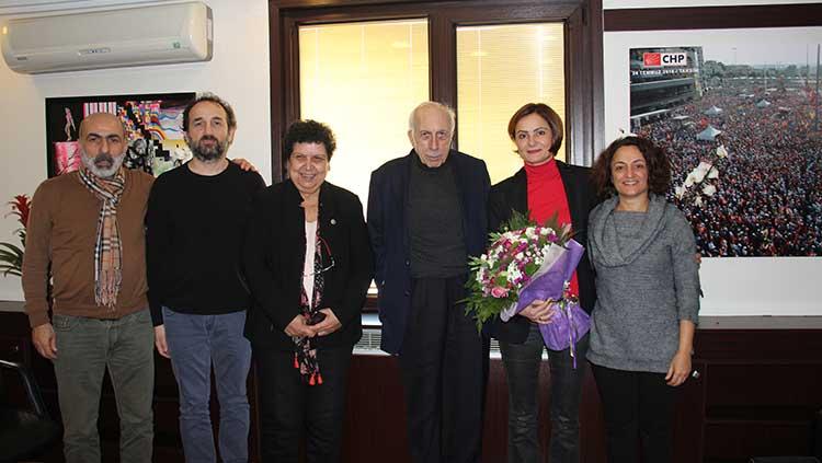 CHP İstanbul İl Başkanı Dr. Canan Kaftancıoğlu'na Ziyaret