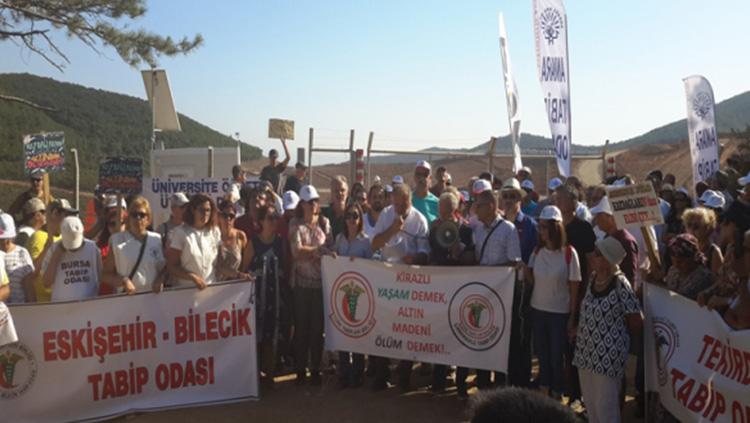 Doğayı ve yaşamı savunuyoruz! Kaz Dağları Türkiye'dir!