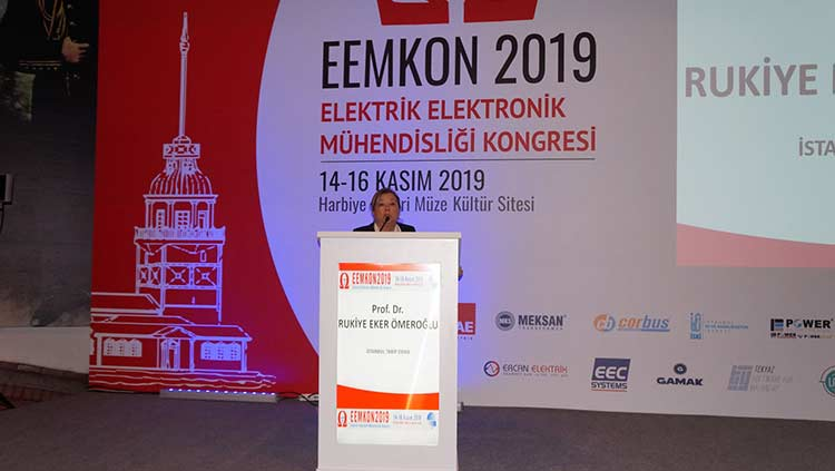 Elektrik Elektronik Mühendisliği Kongresi'nde İstanbul Tabip Odası