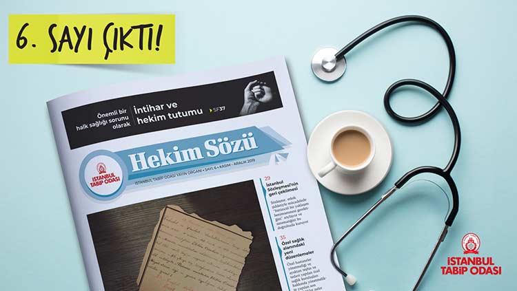 Hekim Sözü'nün Kasım-Aralık Sayısı Yayınlandı