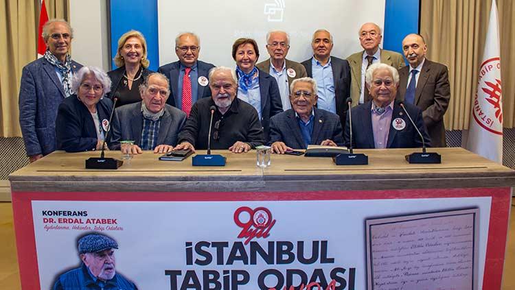 90. Yaşımızı Tarihi Başkanlarımızdan Dr. Erdal Atabek'le Kutladık