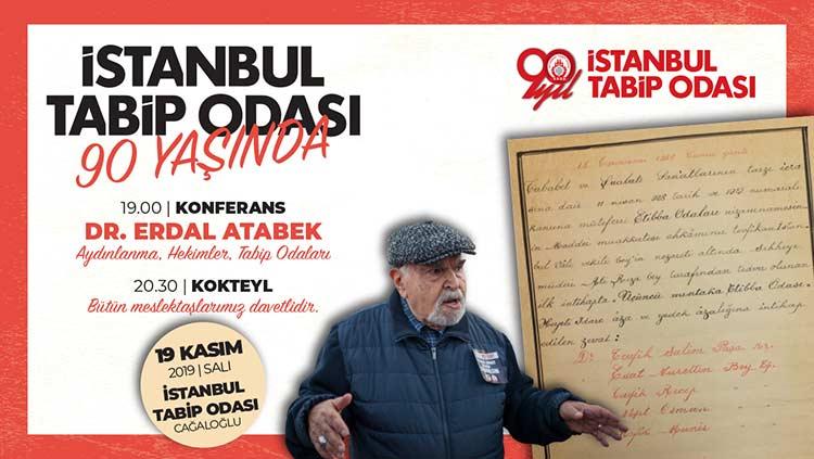 İstanbul Tabip Odası'nın 90. yaşını hep birlikte kutluyoruz!