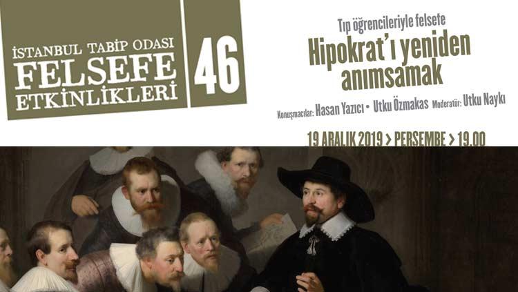 """Tıp Öğrencileriyle Felsefe: """"Hipokrat'ı Yeniden Anımsamak"""""""