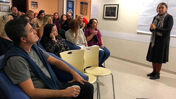 Hastanelerde Sağlıkta Güvenli Çalışma Eğitimleri Başladı