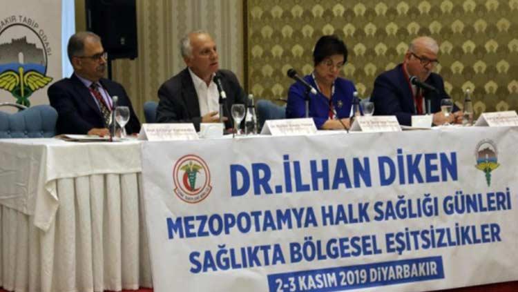 Dr. İlhan Diken Mezopotamya Halk Sağlığı Günleri yapıldı