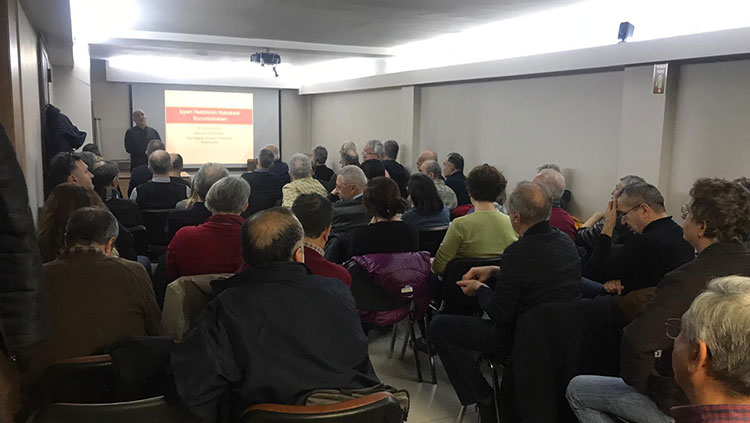 İşçi Sağlığı İşyeri Hekimliği komisyonunun düzenlediği Perşembe toplantıları devam ediyor
