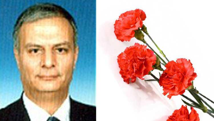 Acı Kaybımız : Prof. Dr. Ömer Faruk Ünal vefat etmiştir.