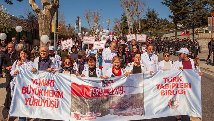 Büyük Hekim Yürüyüşü Fotoğrafları ve Videosu
