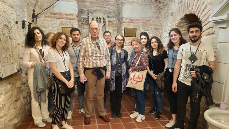 Bursiyerlerimiz Balat-Ayvansaray Kültür Turunda Buluştu