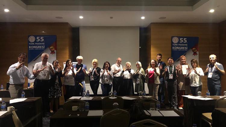 Türk Pediatri Kongresinde Sağlıkta Şiddet Eğitimleri