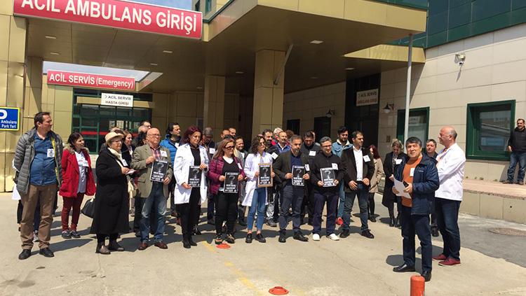 17 Nisan Günü Silivri'de Anma Töreni ve Basın Açıklaması Yapıldı