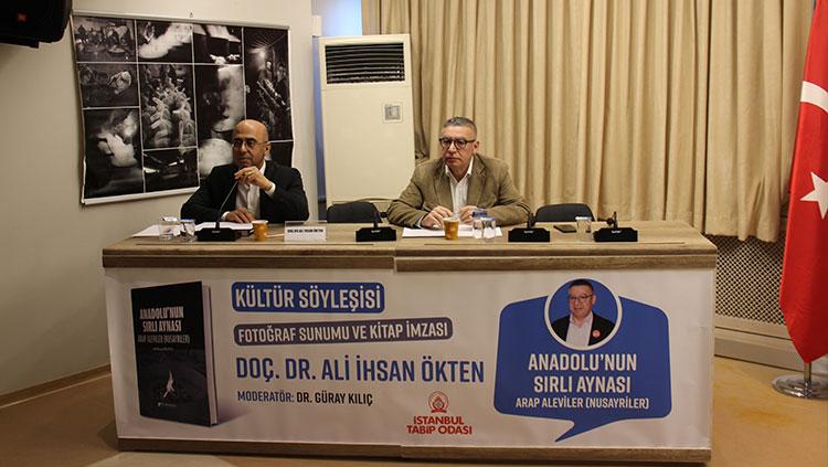 Kültür Söyleşilerinin İlk Konuğu Dr. Ali İhsan Ökten Oldu