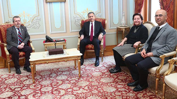 İstanbul Valisi Ali Yerlikaya'yı ziyaret ettik