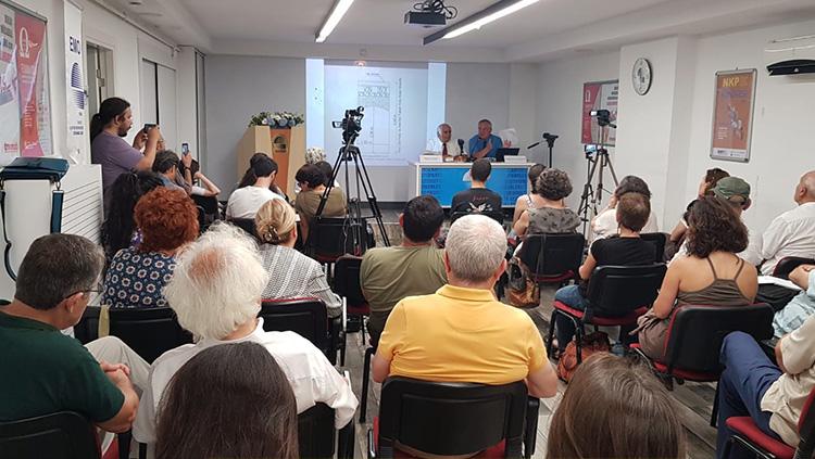 Çorlu Tren Kazasının yıl dönümünde düzenlenen basın toplantısına katıldık