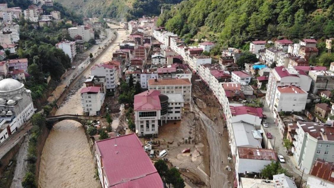 Giresun Sel Felaketi: Şehirlerimizin yıkımının ve 6 yurttaşımızın ölümünün gerçek nedeni  iktidarların politik tercihleridir!