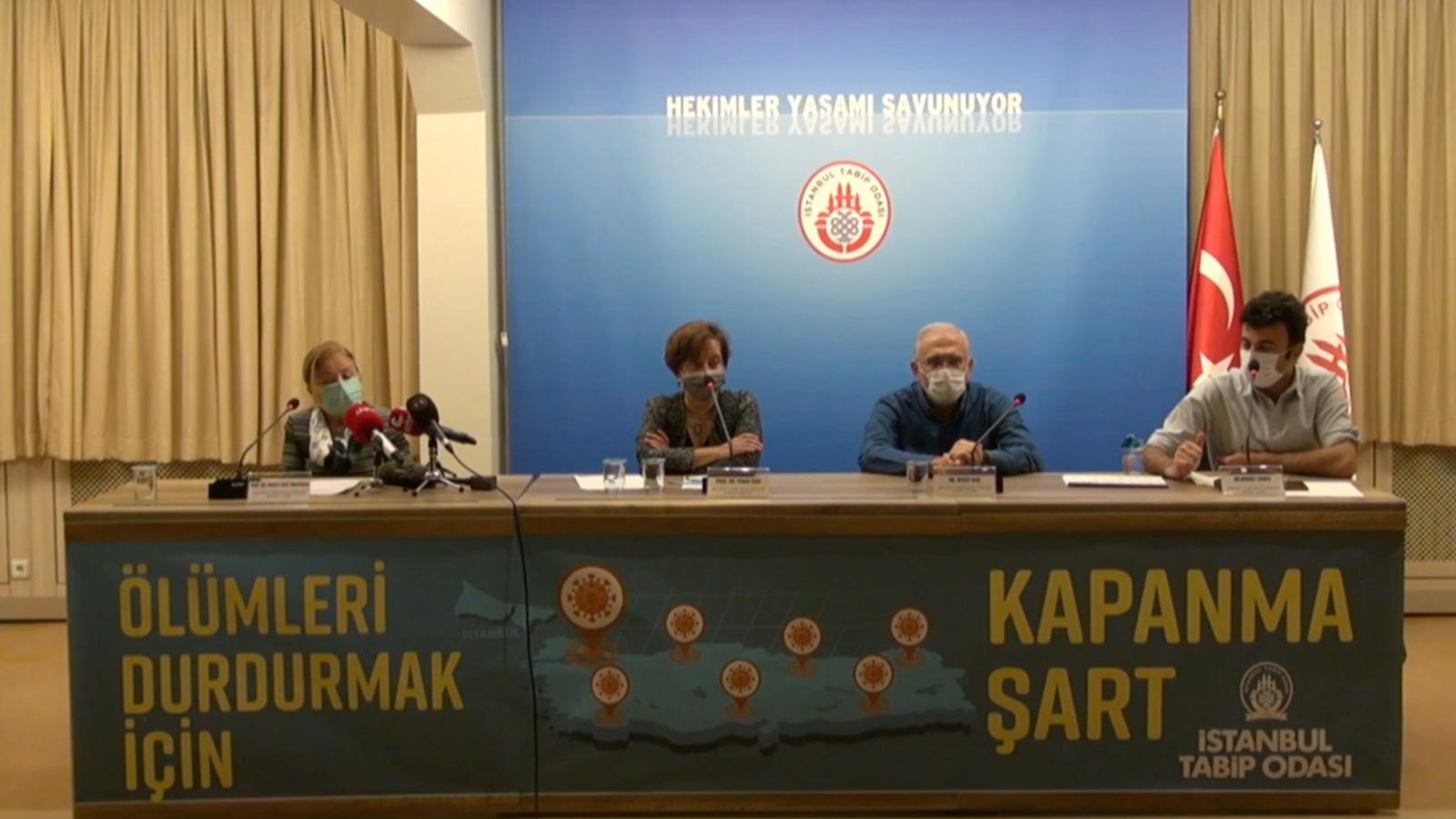 Basın Toplantısı: Yarım Tedbir Yetmez Tam Kapanma Şart!