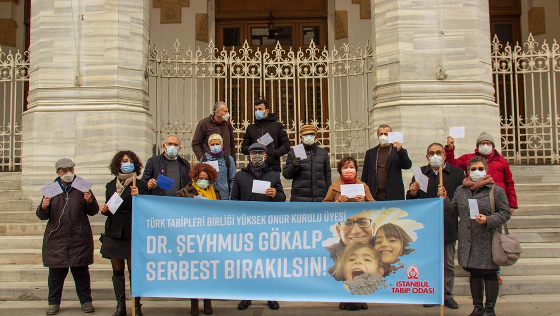 Tutuklu Bulunan Dr. Şeyhmus Gökalp'e Dayanışma Kartı Gönderildi