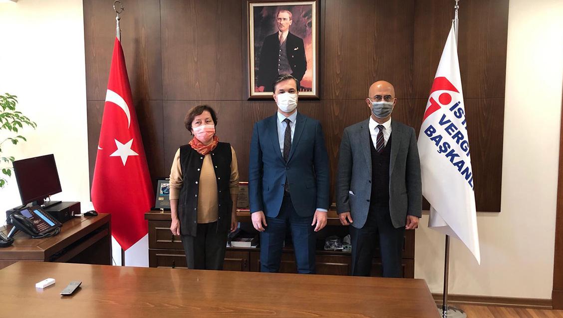 İstanbul Vergi Dairesi Başkanı'yla Görüşme Gerçekleştirdik