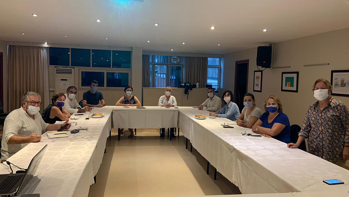 Sağlık ve Sosyal Hizmet Emekçileri Sendikası İstanbul Şubeleri Yönetim Kurulumuzu Ziyaret Etti