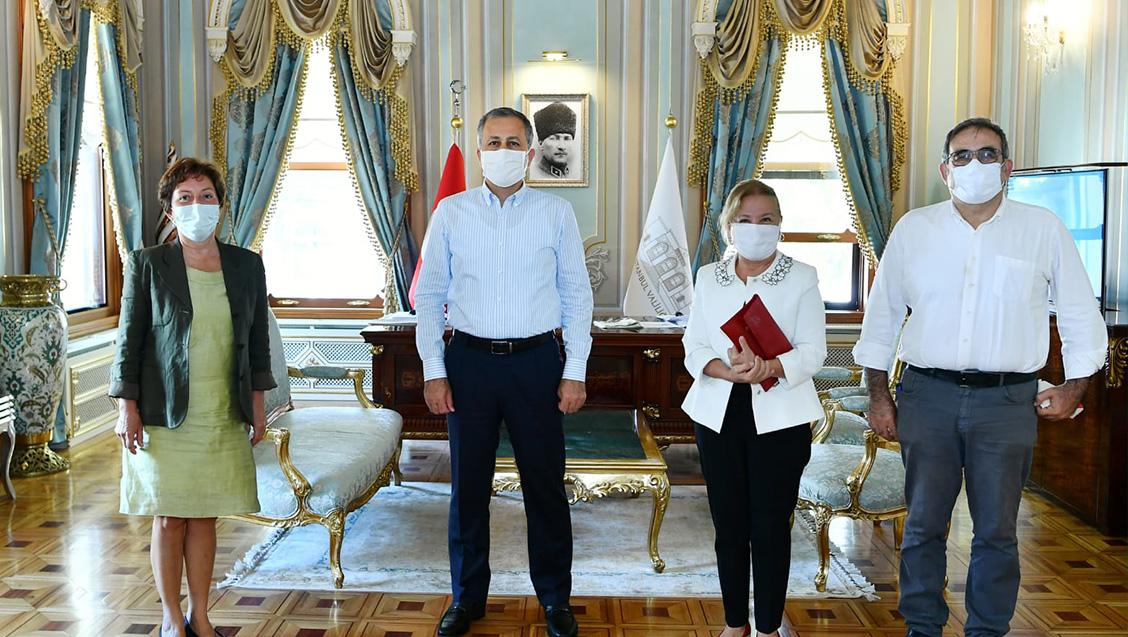 İTO Yönetim Kurulu Seçim Sonrası İstanbul Valisi ve İl Sağlık Müdürü'nü Ziyaret Ederek Pandemiyle İlgili Sorunları İletti.