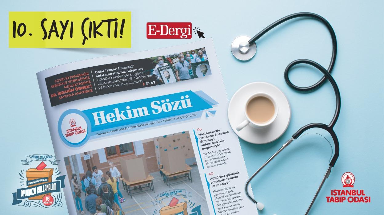 Hekim Sözü (Sayı 10) Temmuz-Ağustos 2020