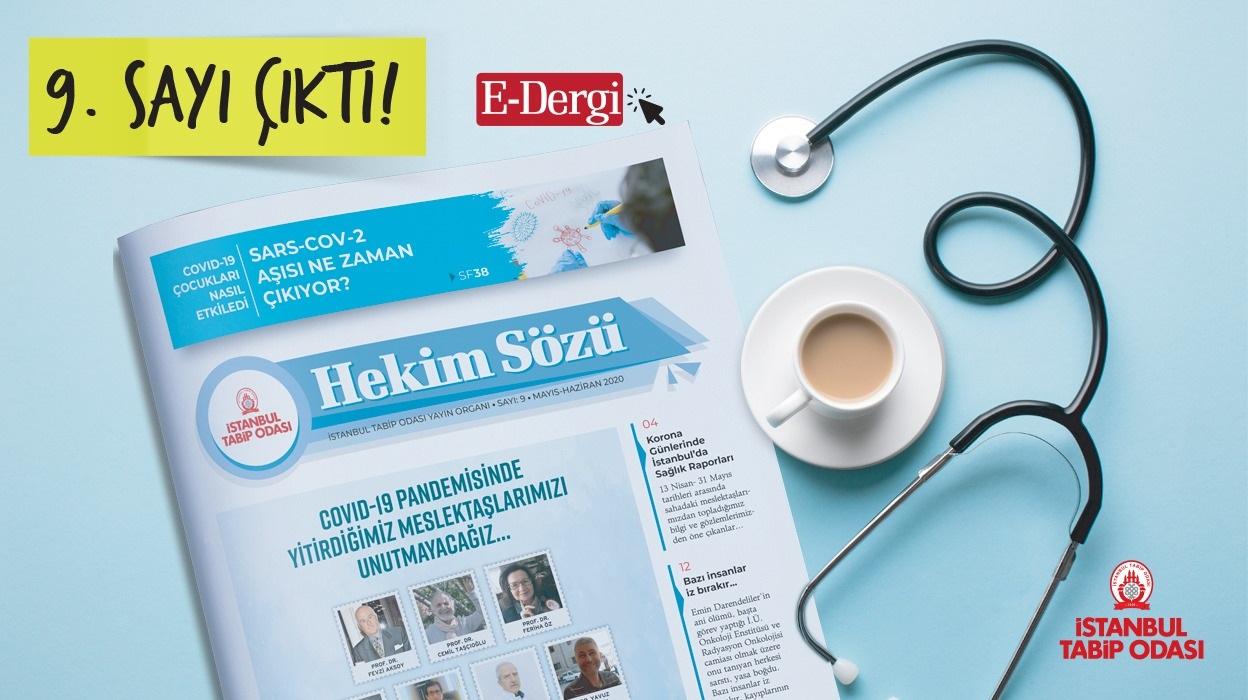 Hekim Sözü (Sayı 9) Mayıs-Haziran 2020