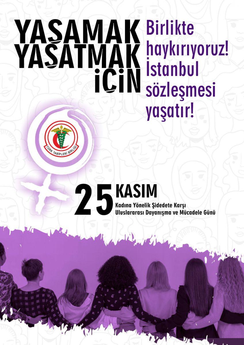 Mirabel Kardeşler'den Dr. Aynur Dağdemir'e Mücadele Eden Tüm Kadınlardan Aldığımız Cesaretle Kadına Yönelik Şiddete Karşı Susmuyoruz!