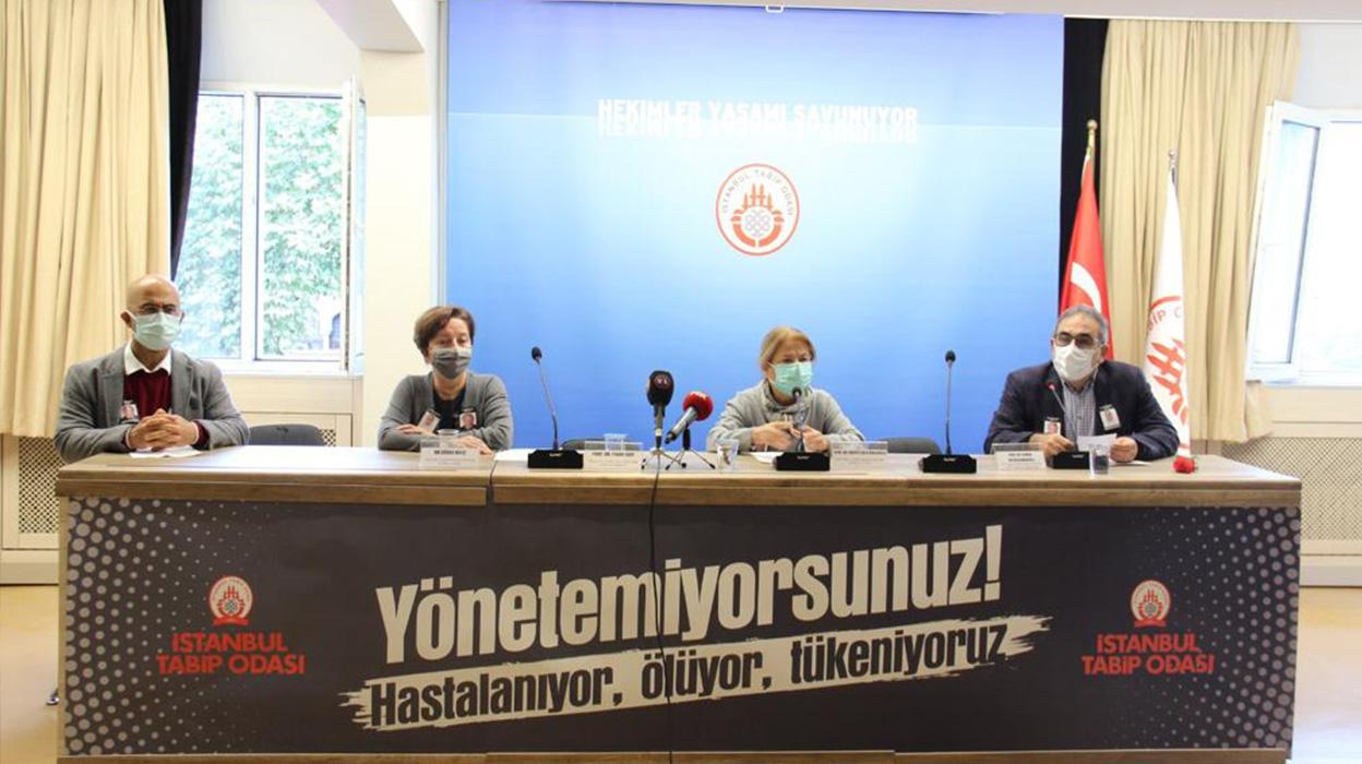 """Basın Toplantısı: İstanbul İçin Acil """"Kapanma"""" Vakti"""