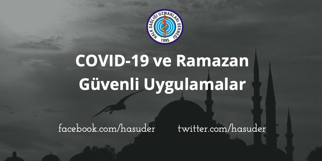 COVID 19 ve Ramazan: Güvenli Uygulamalar