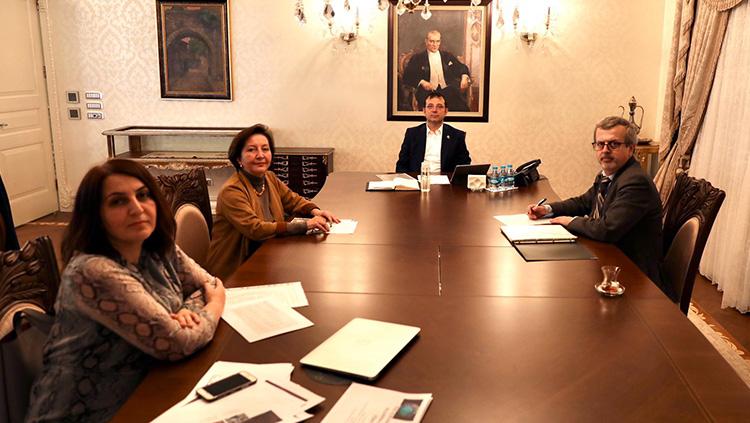 Yönetim Kurulumuz İBB Başkanı Ekrem İmamoğlu'yla Görüştü