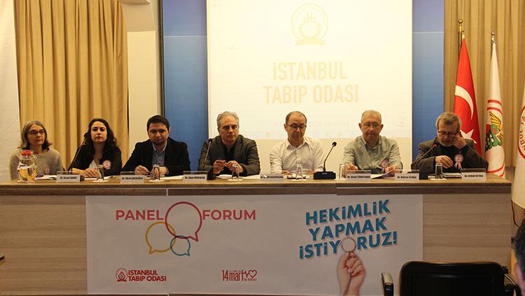 Hekimlik Yapmak İstiyoruz Panel-Forumu Gerçekleştirildi
