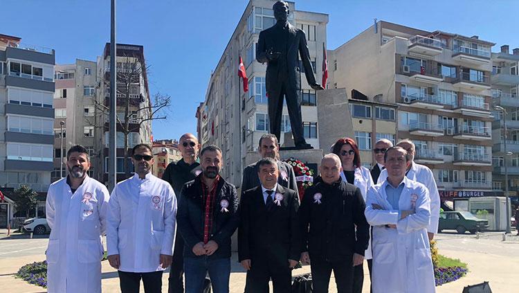 Silivri 14 Mart Anıt Töreni Yapıldı
