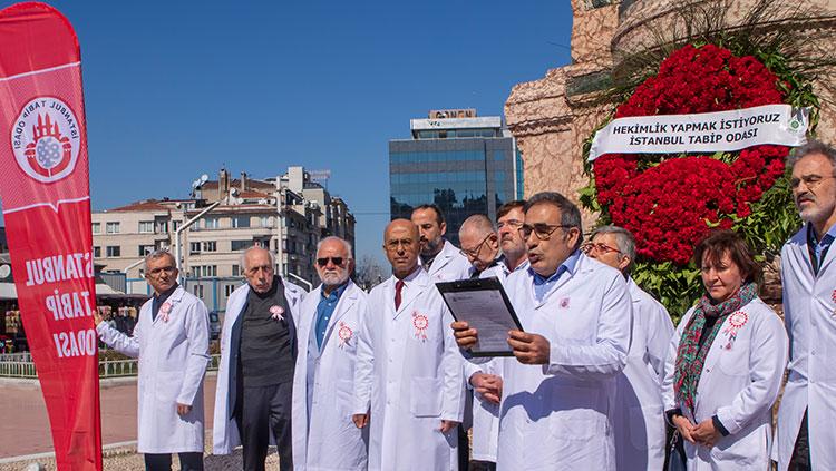 14 Mart Törenini Taksim'de Gerçekleştirdik